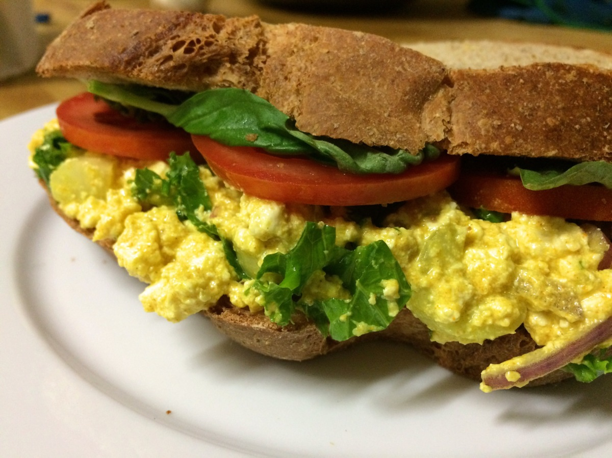 Best Ever Egg-less Salad Recipe!
